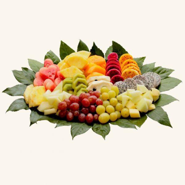 מגש פירות יופי קסום זוגי