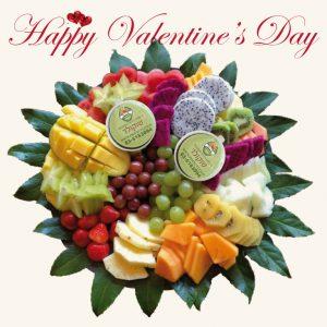 פרי היופי מגש פירות ליום האהבה