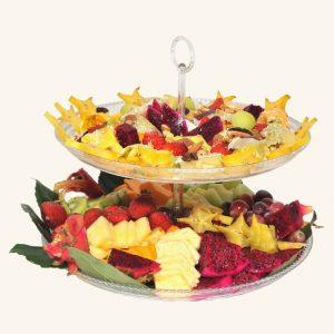 מגש פירות חתוכים