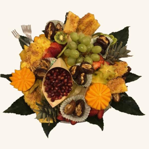 פרי היופי מגש פירות עגול